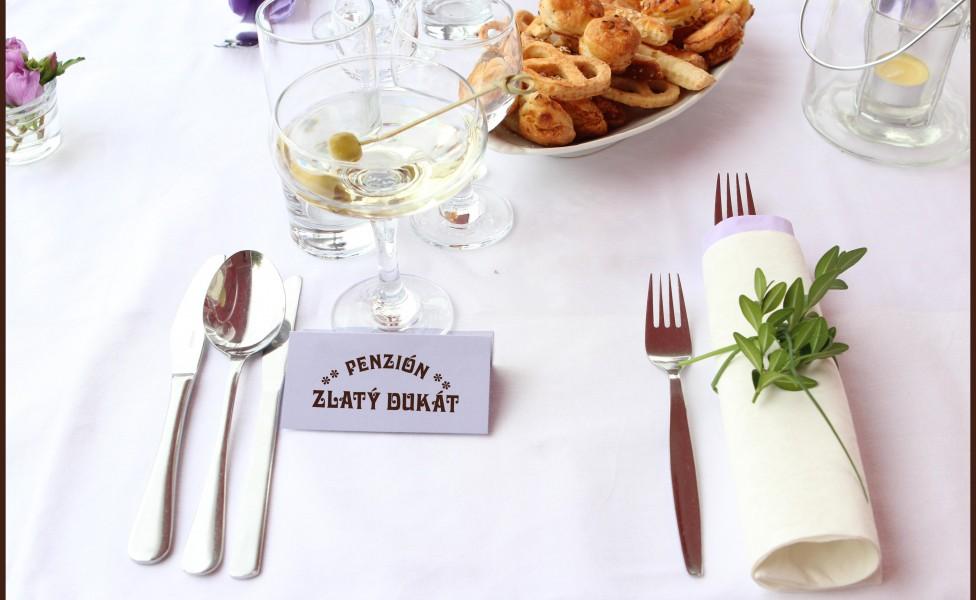 zahradne svadby gastronomia